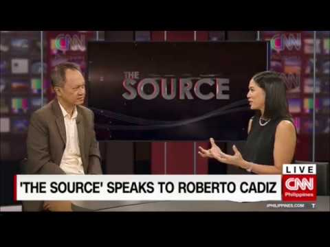 'The Source' speaks to Roberto Cadiz at Salvador Panelo