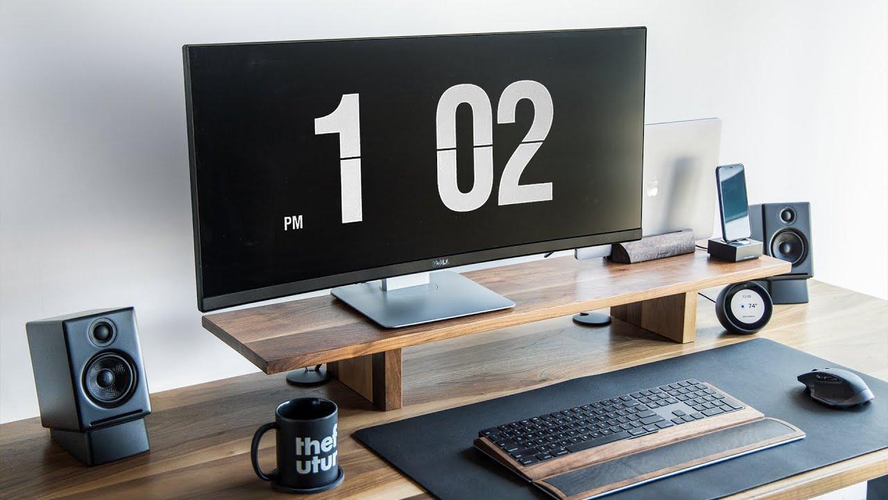 Perfect Productive Workspace – Minimal Office + Desk Tour