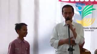 """""""Inyong Kencot"""" Pak Jokowi Belajar Bahasa Ngapak"""