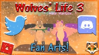 Roblox - Wolves' Life 3 - Fan Art! #18 - HD