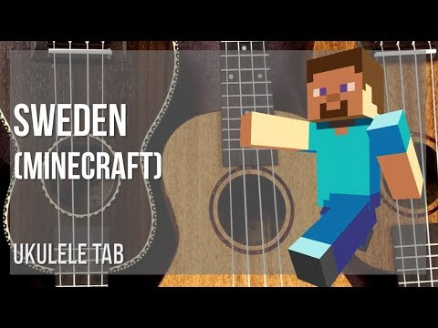 EASY Ukulele Tab: How to play Sweden (Minecraft) by C418