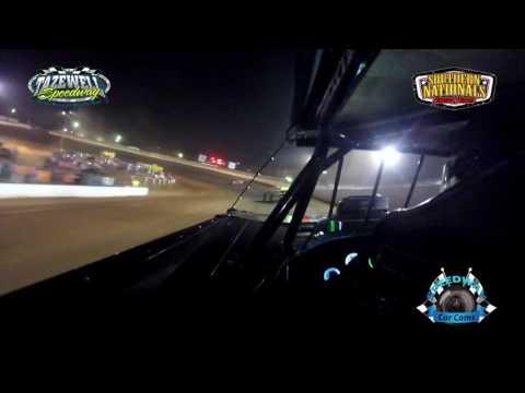 #21K Dakotah Knuckles - Super Late Model - 7-2-17 Tazewell Speedway - In-Car Camera