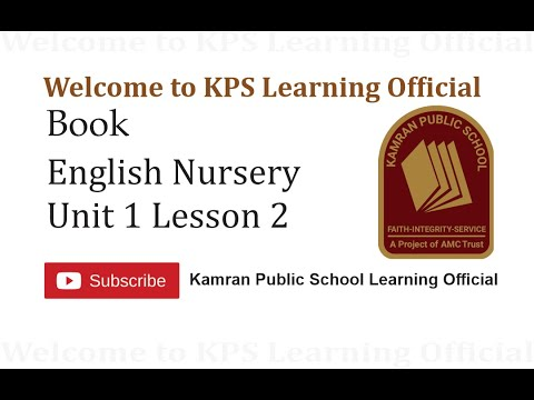 oxford-book-english-nursery-unit-1-lesson-2-kps-learning-official