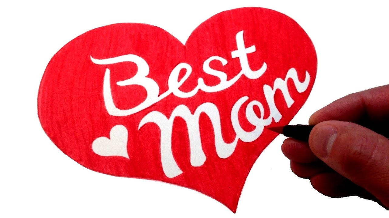 Draw Best Mom  How To Draw Best Mom Graffiti Bubble letters  Mothers Day Birthday