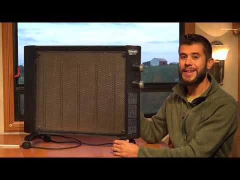 DeLonghi HMP1500 Mica Panel Heater Product Review