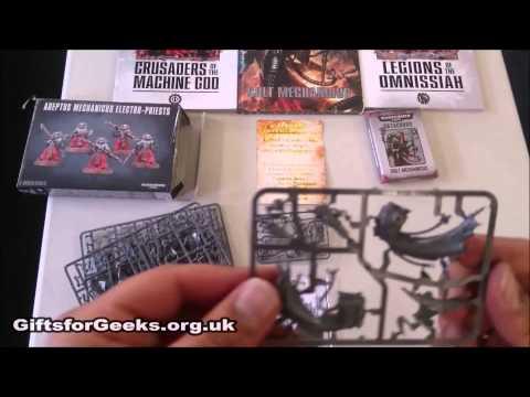 40k Adeptus Mechanicum Unboxing Tech-Priest Dominus & Electo-Priests Gifts For Geeks