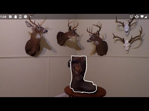 Scent free warm hunting boot! Lacrosse Areohead rubber boots! Review