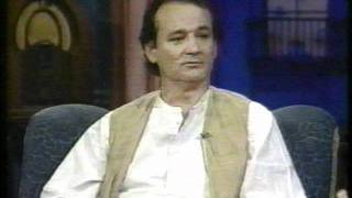 Bill Murray on Later with Bob Costas part 1