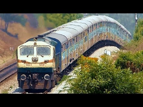 ONE HELL OF A GRADIENT : Indian Railways EMD Roller Coaster