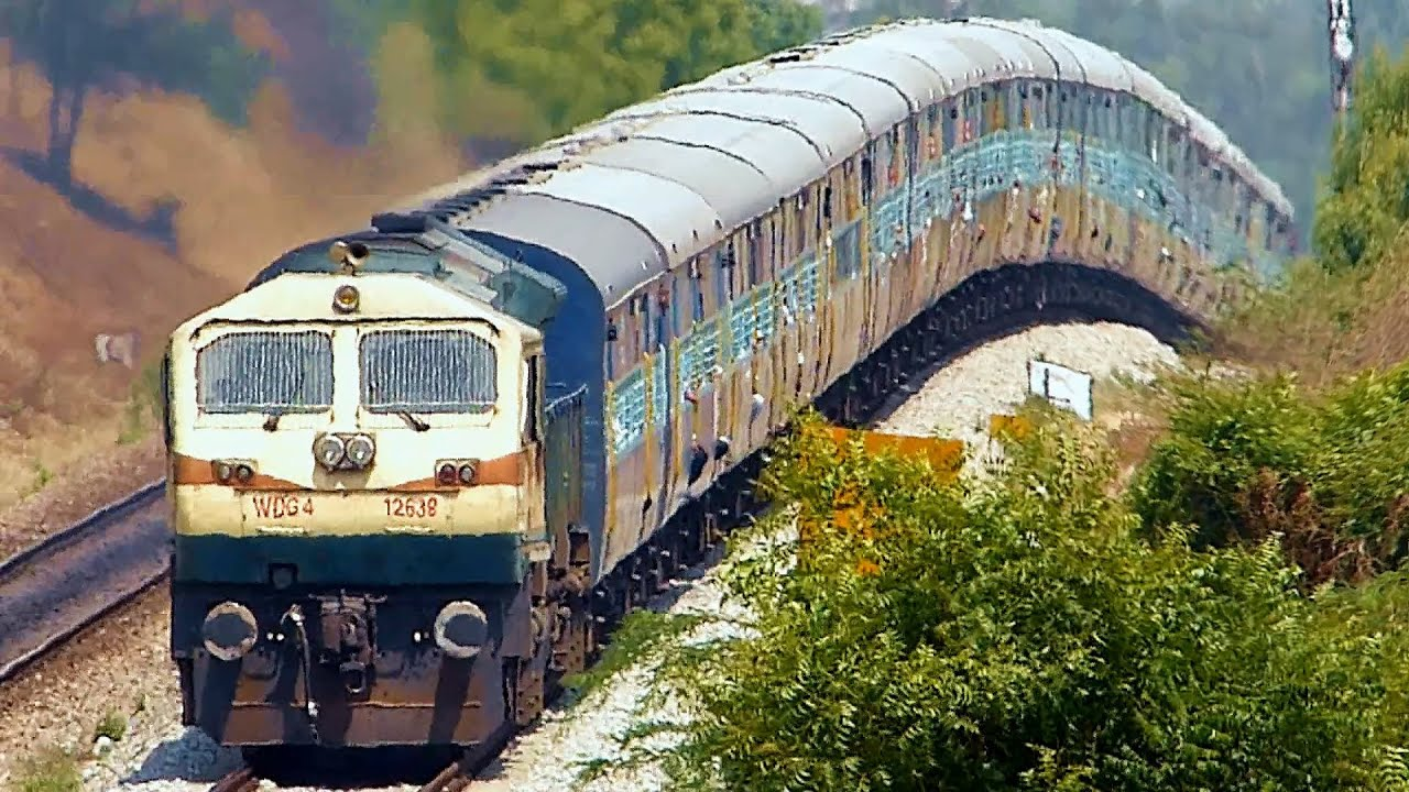 ONE HELL OF A GRADIENT : Indian Railways EMD Roller