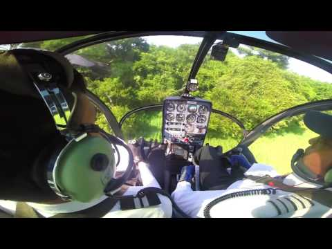 GoPro Cockpit helicopter view