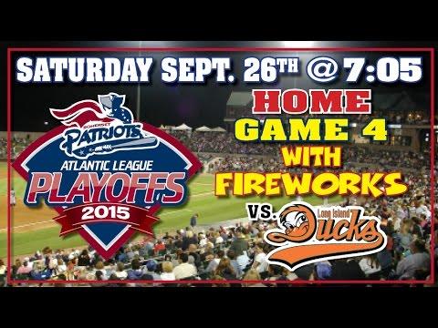 9/26/15:-liberty-division-playoffs---somerset-patriots-vs.-long-island-ducks-game-4-@-7:05pm