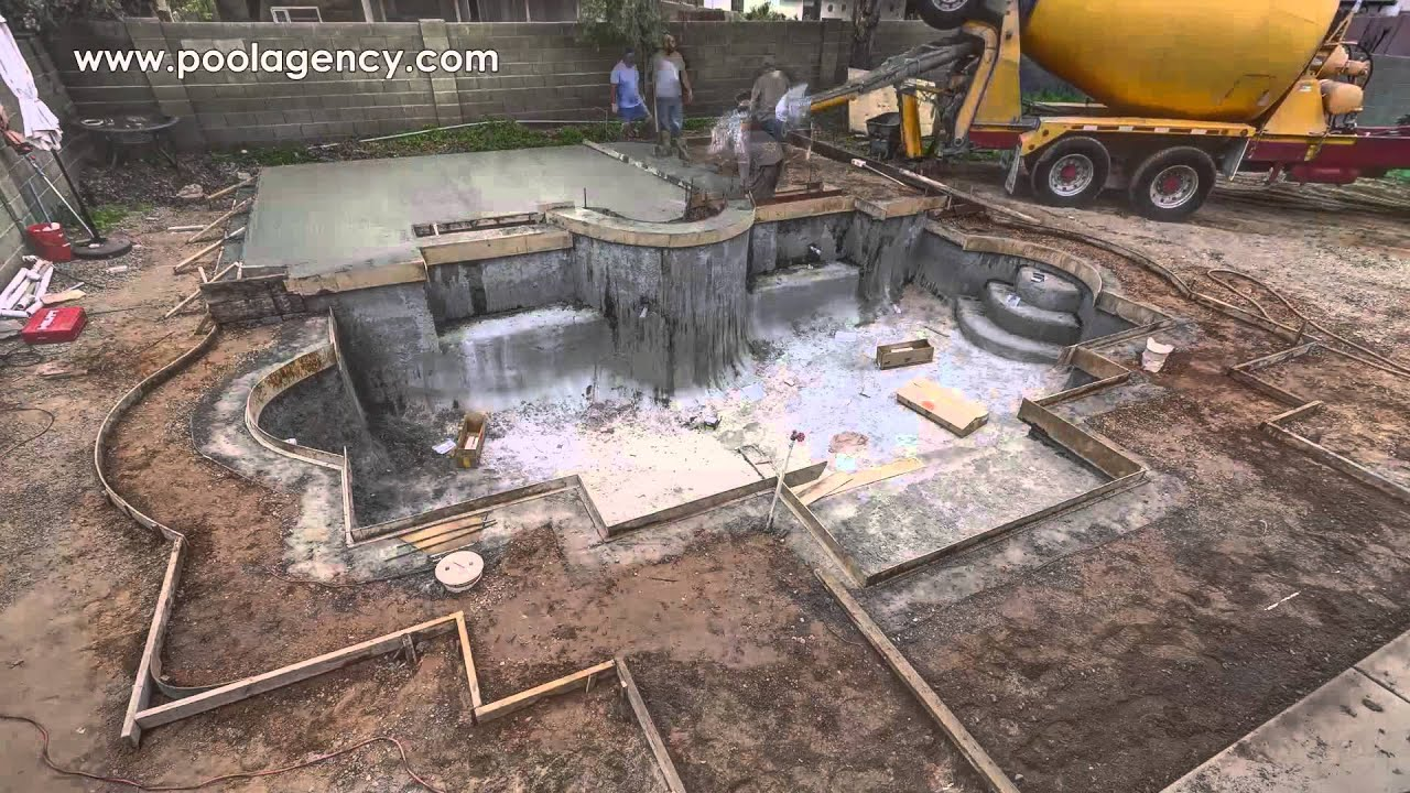 Pool Construction Time Lapse Video By Pool Agency