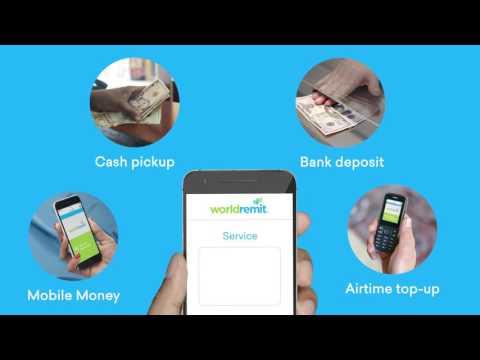 WorldRemit - How to send money abroad