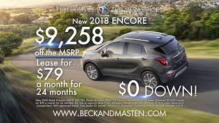 2018 Encore   Beck & Masten North