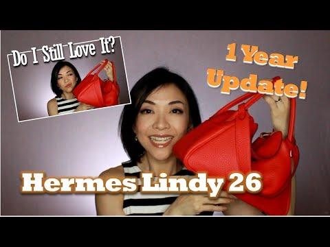 Hermes Lindy 26 | 1 year Update | Do I Still Love It? | Kat L