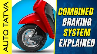 What is Combined Braking System ?   A Basic Overview   Hindi   Auto Tatva