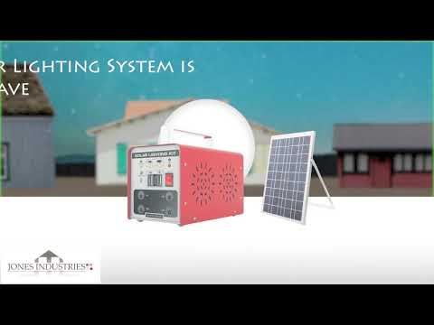 Jones Industry Solar Kit Advert