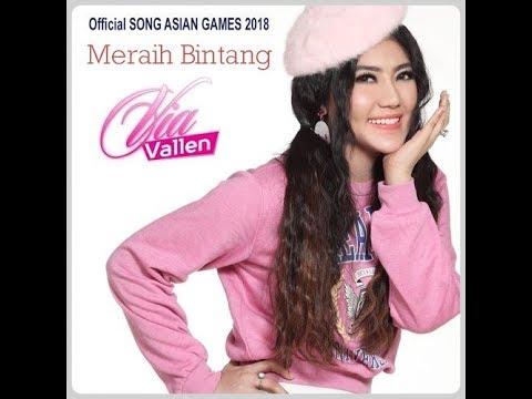 VIA VALLEN   MERAIH BINTANG - ASIAN GAMES 2018 ( KARAOKE HD)