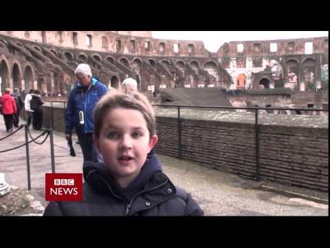 A Special News Report On The Colosseum (Homework Assignment)