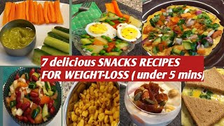 Healthy snacks recipes for weight-loss || indian evening weightloss hello everyone , welcome to my channel ' positivity & happiness ....