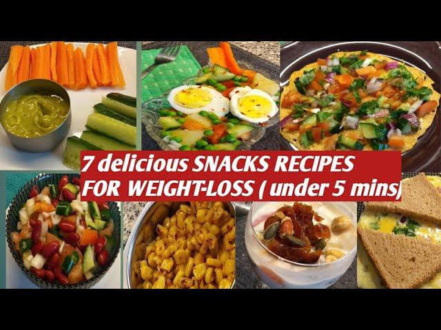 Gesunde indische Snacks Rezepte zum Abnehmen / schnelle Snacks am Abend / # rujutadiwekardietplan / + video