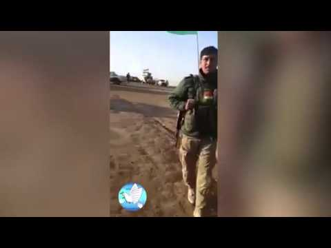 ISIS fighter cries like a little girl after being captured by Kurdish  Fighters