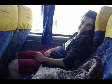 girls doing handjob on bus movies - Handjob in a public bus - 52 sec