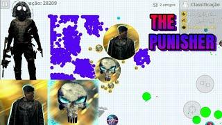 THE PUNISHER THE SERVER DESTROYER // NEW SKINS // MACRO // Epic REVENGE - AGARIO MOBILE
