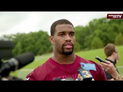 Redskins OTAs: DL Jonathan Allen (5/30/2018)