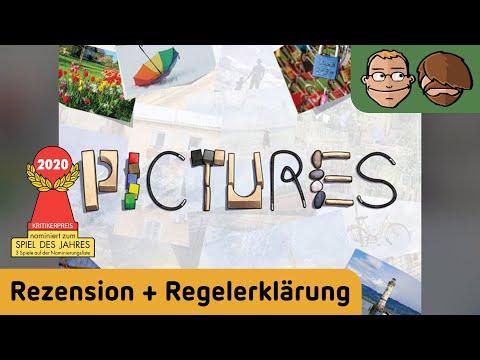 Pictures (Spiel des Jahres 2020)- Brettspiel - Review und Regelerklärung
