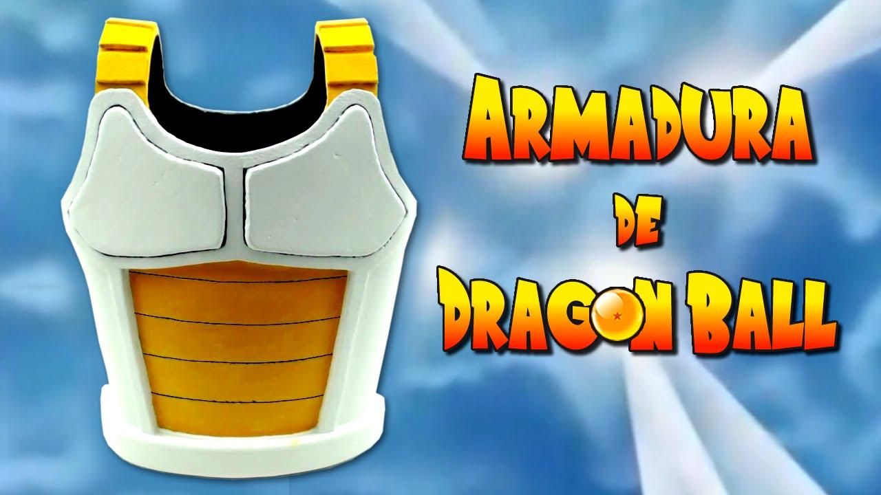 Armadura de dragon ball c mo se hace youtube - Como se hace manualidades ...