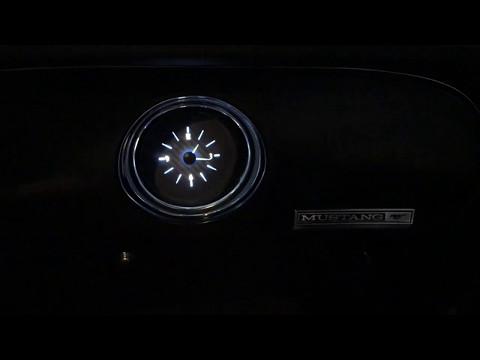 Dakota Digital Clock In A 1969 Mustang Coupe With Standard Dash