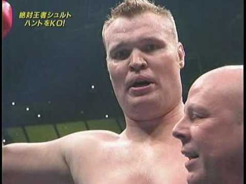 K-1 2008 in Yokohama - Mark Hunt vs Semmy Schilt