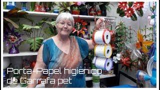 Porta-Papel Higiênico de Garrafa pet | Vó Neide e suas pets