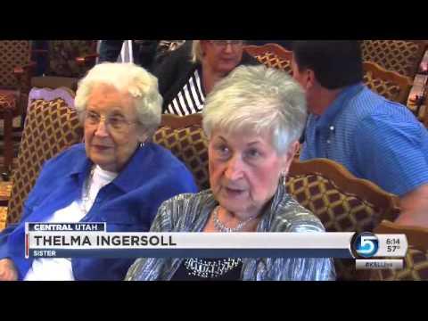 Oldest Utahn celebrates 107th birthday