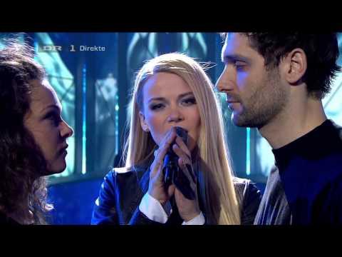 01 - Frederikke - Jeg Har Hele Tiden Vidst Det (Dansk Melodi Grand Prix 2013)