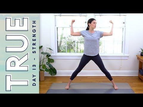 Download Youtube: TRUE - Day 13 - Strength & Harmony  |   Yoga With Adriene