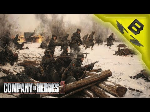 German Interrogation? SUPER Effective! - Company Of Heroes 2 Theater of War Co-op Mission #7 And #8