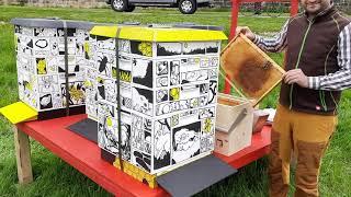Palais.Bienen sorgen für Honig zum Palais Sommer