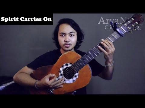 Chord Gampang (Spirit Carries On - Dream Theater ) by Arya Nara (Tutorial)