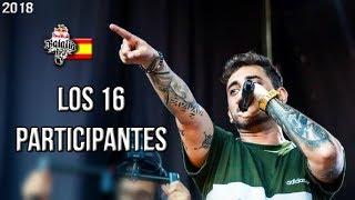 Baixar Los 16 PARTICIPANTES de la RB ESPAÑA | 2018