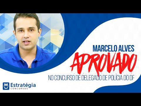 Entrevista  Marcelo Alves APROVADO no concurso de Delegado de Polícia do DF
