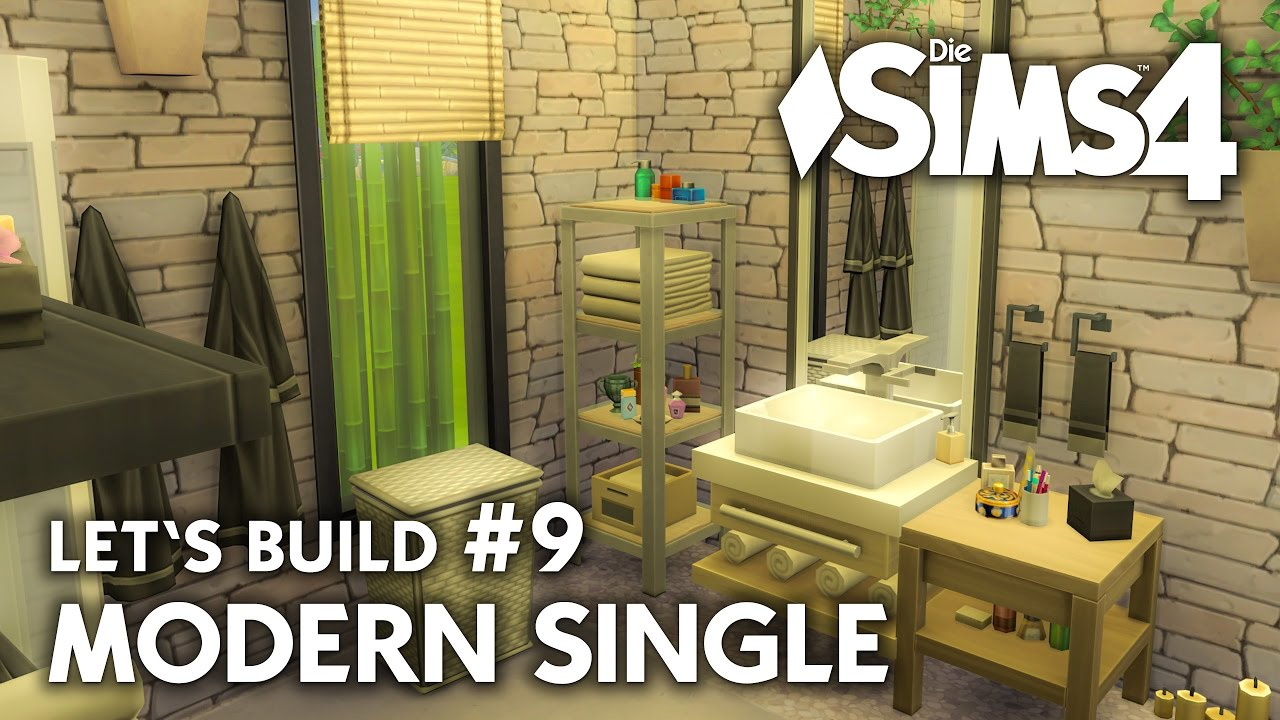 Die Sims 4 Haus bauen | Modern Single #9 - Let\'s Build (deutsch)