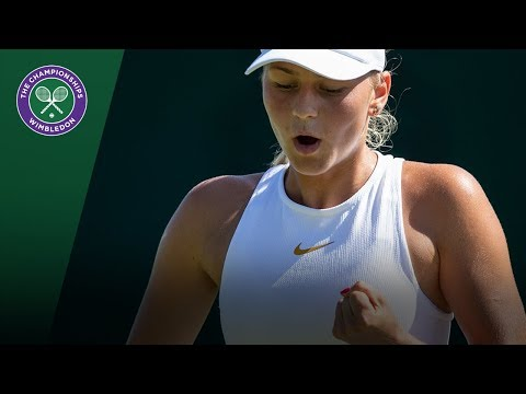 Marta Kostyuk wins Qualifying epic at Wimbledon