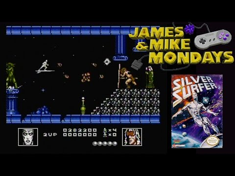 Silver Surfer (NES Video Game) James & Mike Mondays