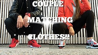|| Couple Matching Clothes || Part 2 || Red Streetstyle Edition ||