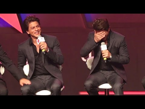 Shahrukh Khan's FUNNY Moments At Star Tv's Ted Talks Show Launch