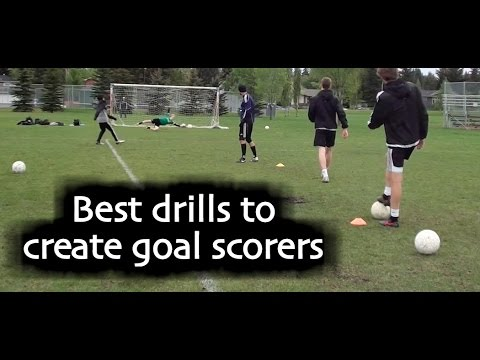 9c30c52bf Soccer drills and training teach how to score more goals in soccer ...