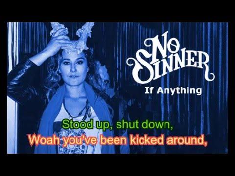 Lyrics - No Sinner - If Anything